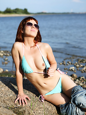 avErotica  Renata  Amateur, Red Heads, Erotic, Outdoor, Teens, Solo